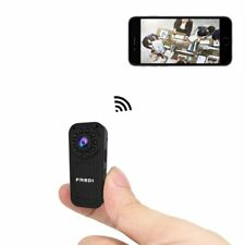 FREDI hidden camera 1080p HD mini wifi camera spy camera for iPhone/Android Phon