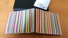 BNWT Paul Smith Textured Signature Stripe Billfold and Coin Wallet RRP £130
