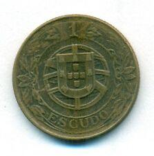 PORTUGAL COIN 1 ESCUDO 1926 ALUMINIUM-BRONZE KM#576 VF+