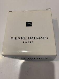 """VINTAGE MEN'S PIERRE BALMAIN PARIS BROWN  GENUINE LEATHER BELT SIZE 46"""""""