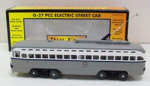 MTH 30-2559-0 Newark PCC Electric Street Car With Loco-Sound LN/Box