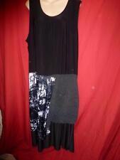 Polyester Geometric Midi Women's Shift Dresses