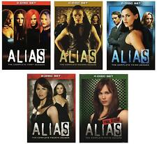 Alias Complete TV Series All Seasons 1-5 DVD Set Collection Episodes Show Sydney