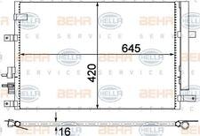 8FC 351 318-394 HELLA Kondensator Klimaanlage