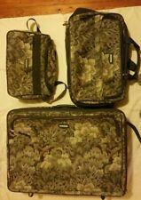 Vintage Three Piece jaguar Luggage Set
