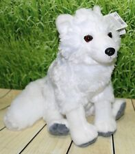 "Wild Republic ARCTIC FOX 12"" Sitting Plush Cuddlekins White Stuffed Animal NEW"