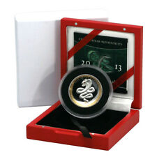 Palau Year of the Snake $5 2013 Proof Silver Crown Crystal Eye Mint Issued Box &