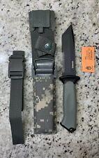 New NO BOX Gerber Prodigy Tanto Survival Knife. Digital Camo Sheath. Made In USA