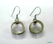 earrings traditional handmade jewelry vintage antique tribal old silver