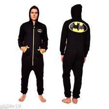 Batman Jumpsuit - All in One  (Mens onsie onesy onzie bat man clothing super)