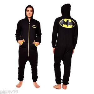 Batman Onesie Jumpsuit - Mens onsie onzie onesy bat man clothing (not gerber)