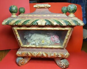 shrine relicario relic reliquary reliquien rеликвия ST CLEMENTE  MARTYR  ✔️