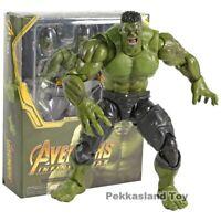 SHF SHFiguarts Hulk Avengers Infinity War PVC Action Figure Collectible ModelToy
