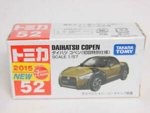 Tomica first special specification Daihatsu Copen LA400K type first limited