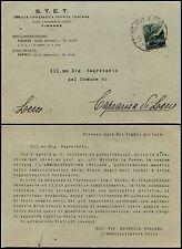 REPUBBLICA-Isolato 1 L Democratica(550)-Cartolina STET - Empoli 25.3.1948