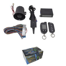 ScyTek Galaxy G777 V2 2 Way Car Alarm Anti Theft Security System Keyless Entry