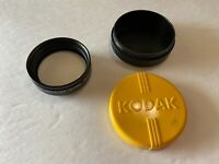 Vintage Leica Leitz Wetzlar Elpro VIa attachment close up lens w/ Kodak case