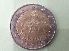 Pièce 2 euros € : 2€ grece 2002 fauté