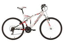 "Mountainbike Fully 26"" ZODIAC MTB 21 Gang Weiss RH 48 cm KS Cycling 320M"