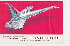 #MISC-1101 -  1957 FORD THUNDERBIRD car brochure