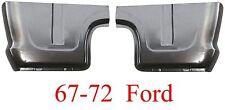 67 72 Ford Cab Corner Set, Truck, F100 Pickup, Rust Repair, 68 69 70 71, Pair