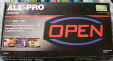 Cooper Lighting All-Pro Led Open Sign - #Opnled - New
