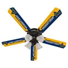 Ceiling Fan Designers 7995-Wvu New Ncaa West Virginia Mountaineers 52 in. Cei.
