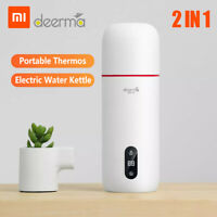 Xiaomi Deerma 350ML Electric Water Kettle Smart Water Boil Thermos Cup Flask