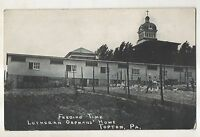 Feeding Time, Chickens, Lutheran Orphans' Home TOPTON PA Vintage Postcard