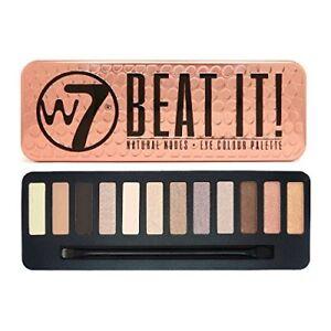 W7 15.6 g Beat It Natural Nudes Eye Colour Palette - 12-Piece