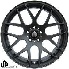 UP720 19x9.5 5x112 Matte Gunmetal ET40 Wheels Fits Audi b5 b6 b7 b8 c4 c6 Q5