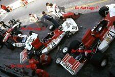 Beltoise & Lauda & Gethin BRM P160E Canadian Grand Prix 1973 Photograph 1