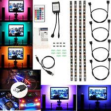 4x Colour Changing 5V RGB 5050 LED Strip Light USB TV PC Back Mood RGB Lighting