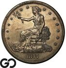 1877 S Trade Dollar Choice AU Popular Silver Dollar Series Free Shipping!
