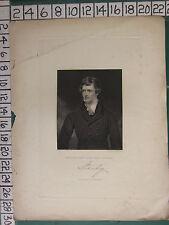 C1830 stampa ~ Edward Geoffrey STANLEY ~ Lord STANLEY