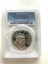 2011 W Platinum $100  PCGS PR70 DCAM Statue of Liberty
