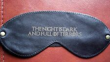Game of Thrones Leather Sleep Mask Blindfold The Night is Dark & Full of Terrors
