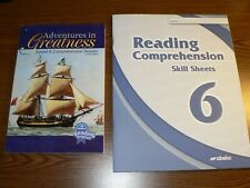 ABEKA Grade 6 Reading Comprehension Skill Sheets Adventure Speed & Comprehension