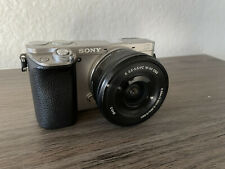 Sony Alpha a6000  24.3 MP Digital Camera with E PZ OSS 16-50mm Lens - Silver
