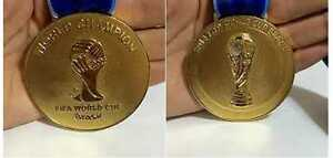 Germany 2014 World Cup Soccer Champions Replica Winner's 'Gold' Medal !!!