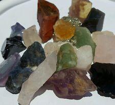 1/2Lb Crafters Mix Lots Gems Crystals Natural Mineral Specimens