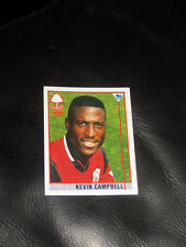 Kevin Campbell sticker Merlin Premier League 96 75 1996 football Nottm Forest