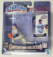 STARTING LINEUP 2 COOPERSTOWN COLLECTION NOLAN RYAN TEXAS RANGERS COLLECTOR CARD