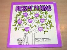 EX/EX- !! Professor Plum's Jazz/Pickin' Plums/1980 Clambake LP