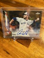Anthony Kay 2020 TOPPS CHROME ON CARD GOLD REFRACTOR ROOKIE AUTO /50 BLUE JAYS