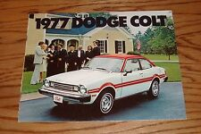 Original 1977 Dodge Colt Sales Brochure 77