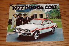 Original 1977 Dodge Colt Sales Brochure 77
