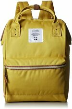 [Anello] anello poly canvas cap mini backpack yellow AT-B0197B