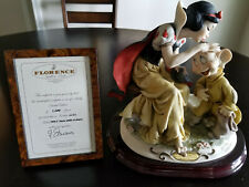 Giuseppe Armani Snow White & Dopey: Limited Edition #1191 of 1500!