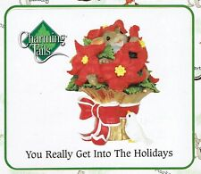 Charming Tails Ltd Ed You Really Get Into the Holidays- Mib - Free Ship